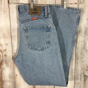 Wranglers Light Wash Jeans Size 31x30